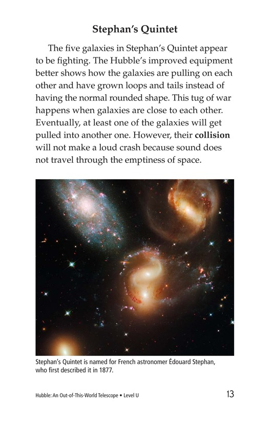 Book Preview For Hubble: An Out-of-This-World Telescope Page 13