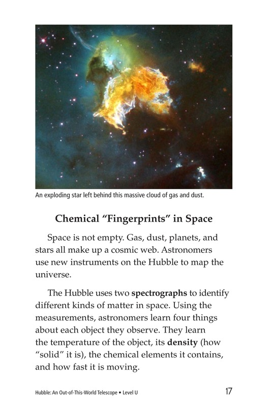 Book Preview For Hubble: An Out-of-This-World Telescope Page 17