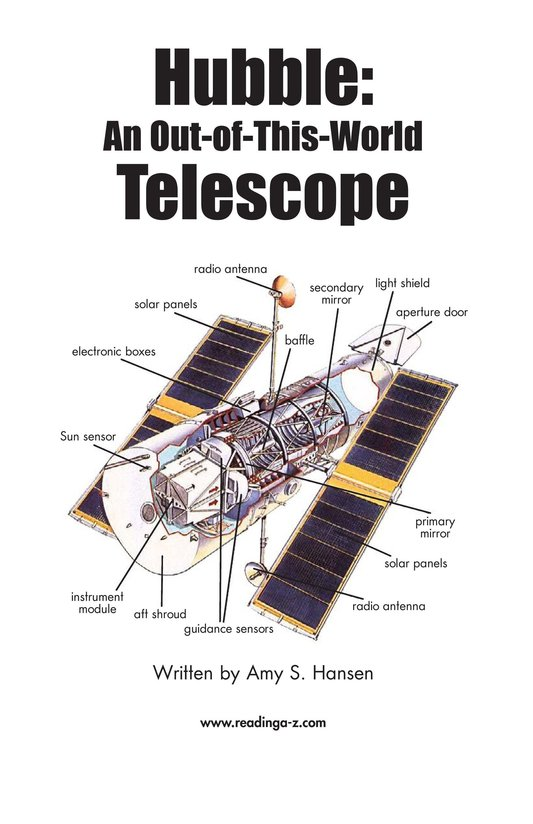 Book Preview For Hubble: An Out-of-This-World Telescope Page 2