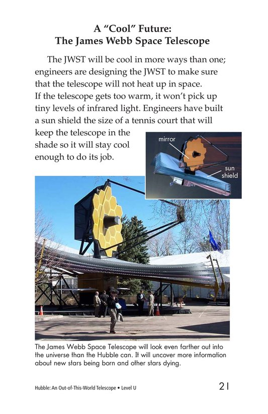 Book Preview For Hubble: An Out-of-This-World Telescope Page 21
