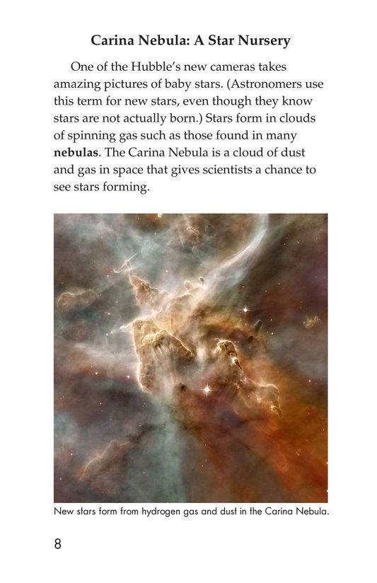 Book Preview For Hubble: An Out-of-This-World Telescope Page 8