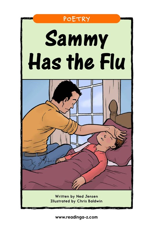 Book Preview For Sammy Has the Flu Page 1