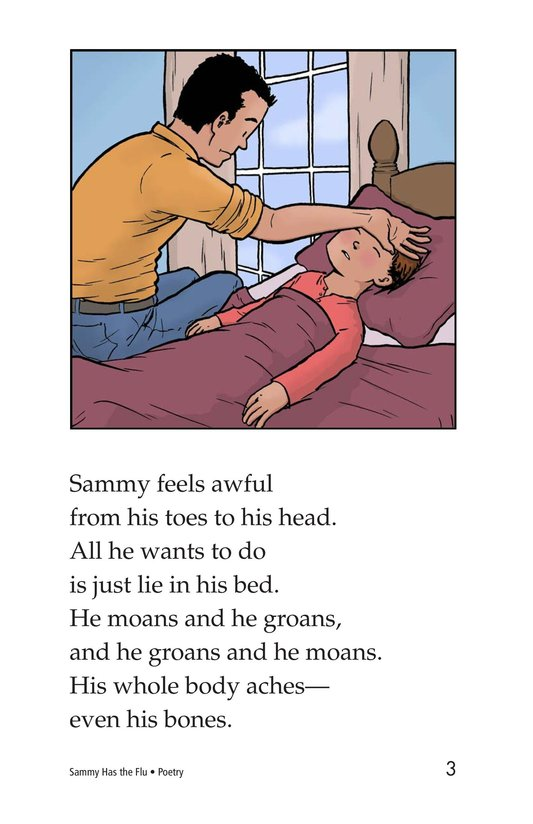 Book Preview For Sammy Has the Flu Page 3