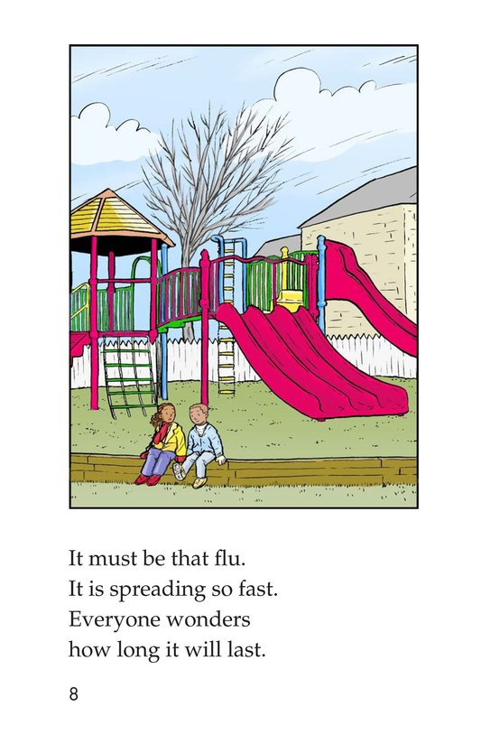 Book Preview For Sammy Has the Flu Page 8