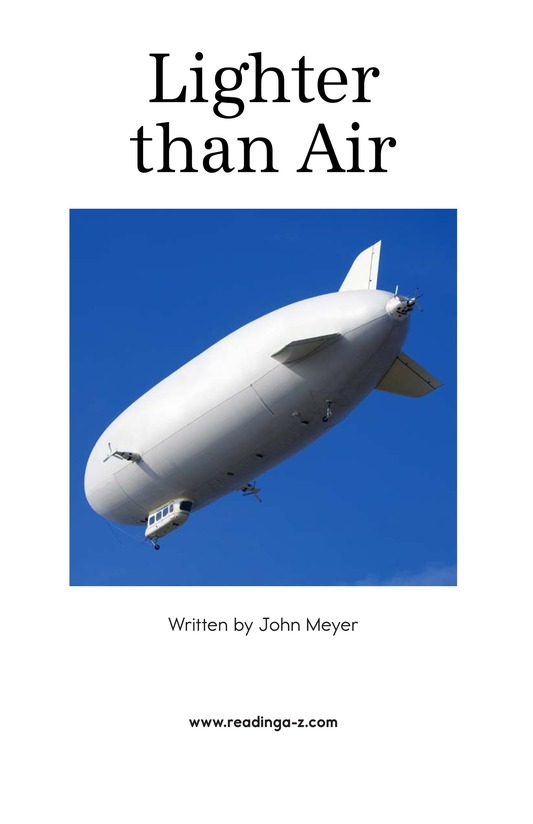 Book Preview For Lighter Than Air Page 2