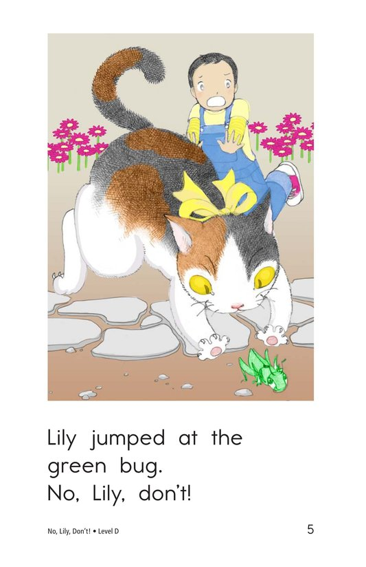 Book Preview For No, Lily, Don't! Page 5
