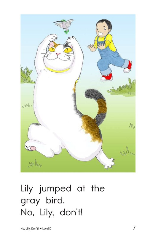 Book Preview For No, Lily, Don't! Page 7
