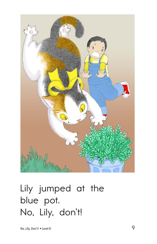 Book Preview For No, Lily, Don't! Page 9