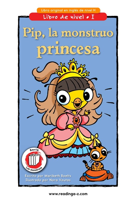Book Preview For Pip, the Monster Princess Page 1