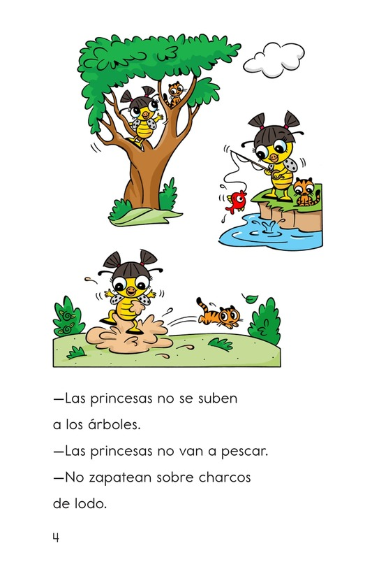Book Preview For Pip, the Monster Princess Page 4