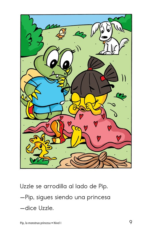 Book Preview For Pip, the Monster Princess Page 9