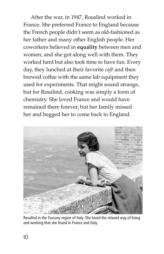 Book Preview For Rosalind Franklin's Beautiful Twist Page 10