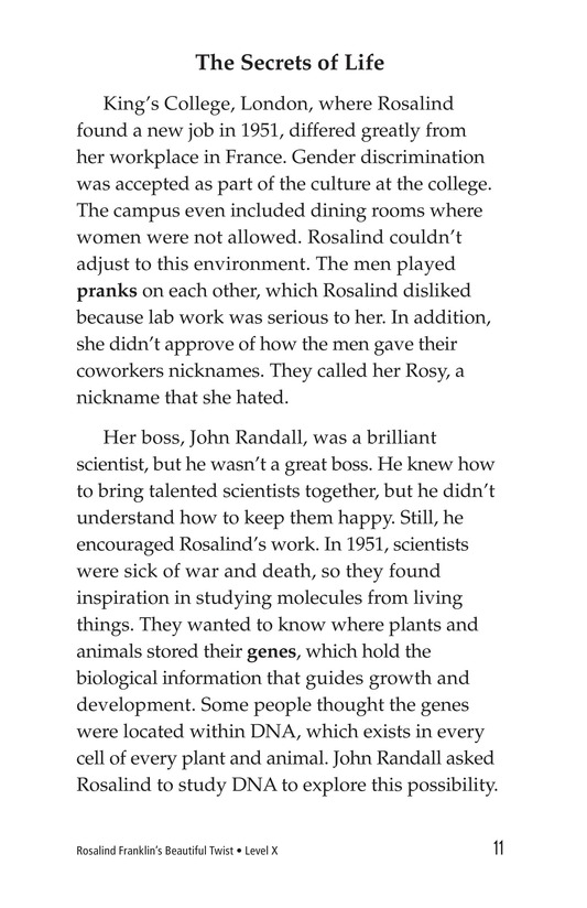 Book Preview For Rosalind Franklin's Beautiful Twist Page 11