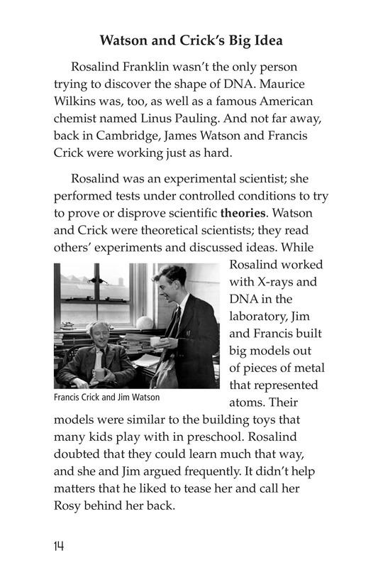 Book Preview For Rosalind Franklin's Beautiful Twist Page 14