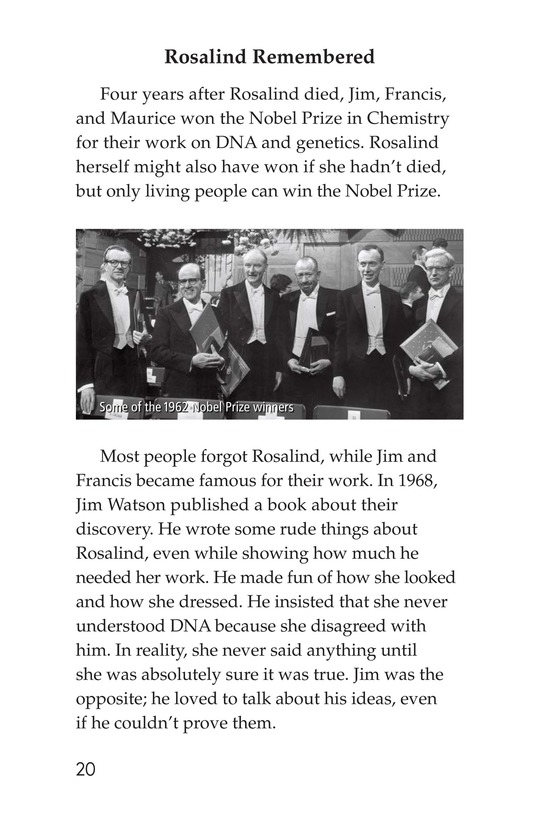 Book Preview For Rosalind Franklin's Beautiful Twist Page 20