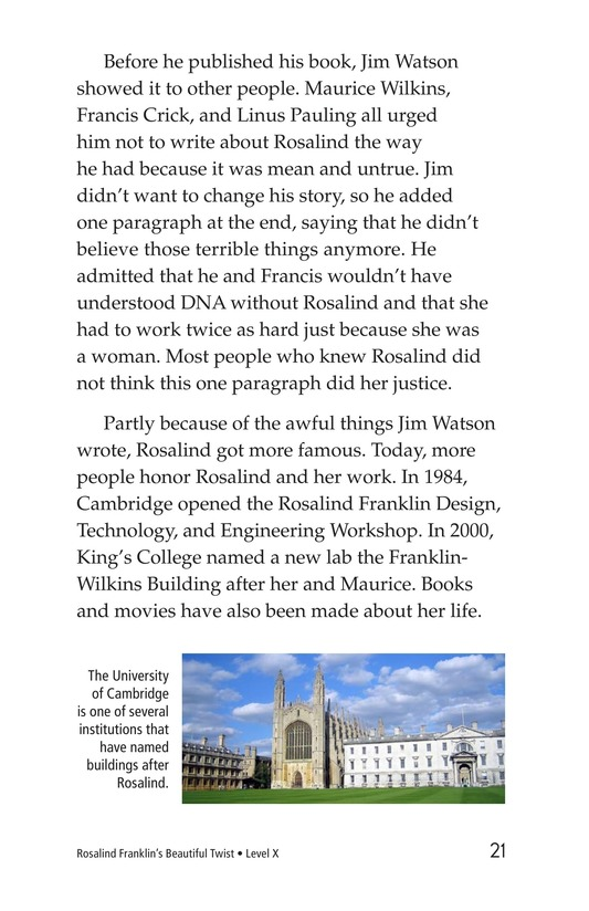 Book Preview For Rosalind Franklin's Beautiful Twist Page 21