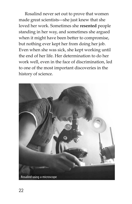 Book Preview For Rosalind Franklin's Beautiful Twist Page 22