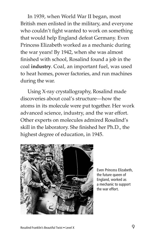 Book Preview For Rosalind Franklin's Beautiful Twist Page 9