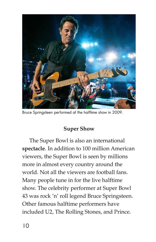 Book Preview For Going to the Super Bowl Page 10