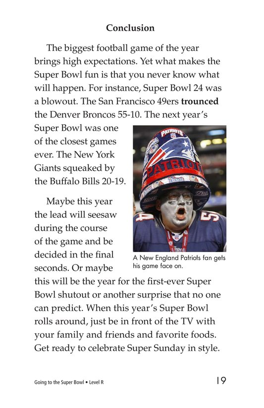 Book Preview For Going to the Super Bowl Page 19