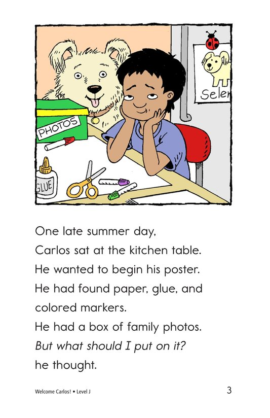 Book Preview For Welcome, Carlos! Page 3