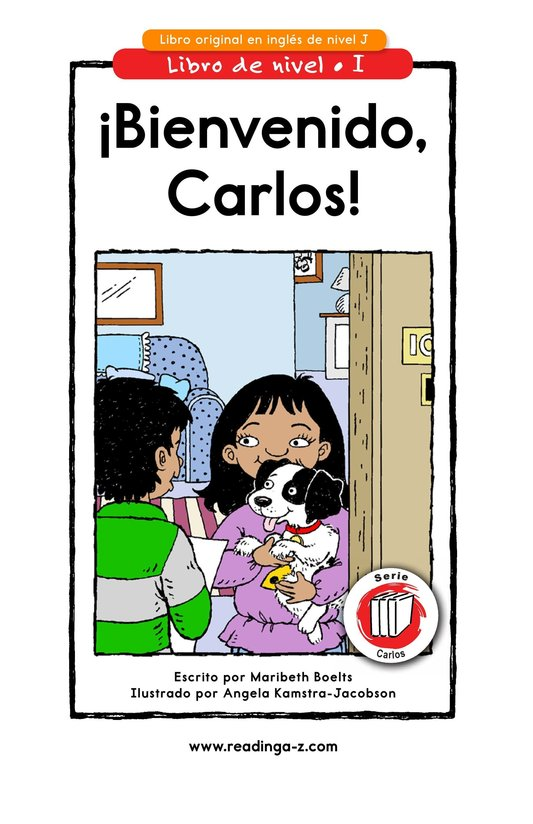 Book Preview For Welcome, Carlos! Page 1
