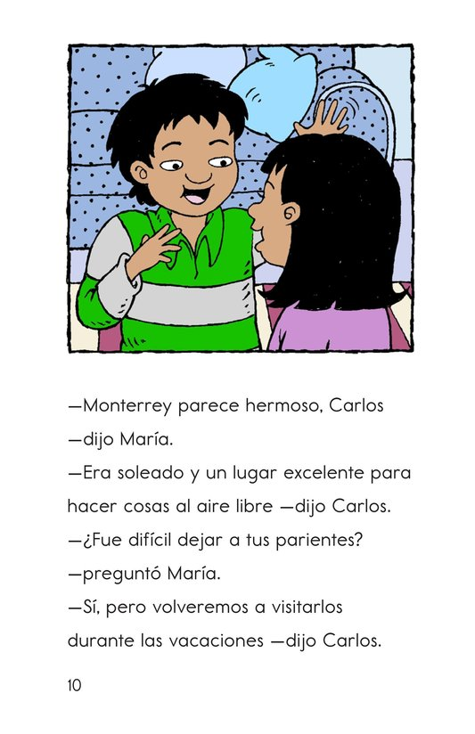 Book Preview For Welcome, Carlos! Page 10