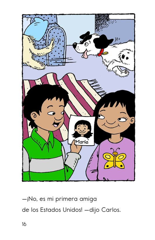 Book Preview For Welcome, Carlos! Page 16