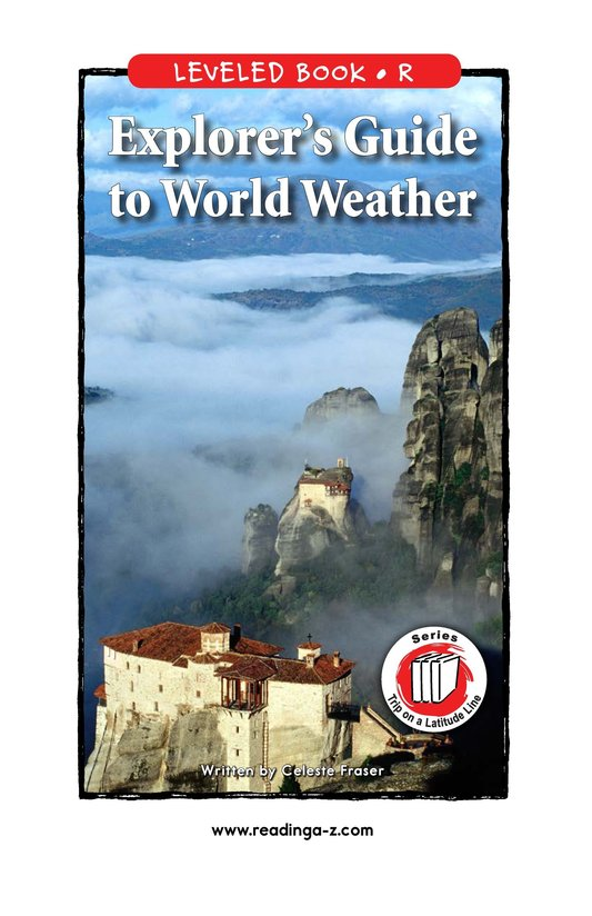 Book Preview For Explorer's Guide to World Weather Page 1