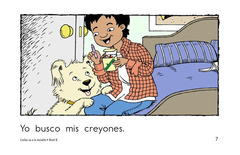 Book Preview For Carlos Goes to School Page 7