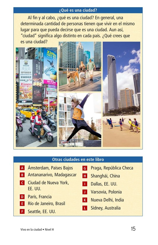 Book Preview For I Live in the City Page 15