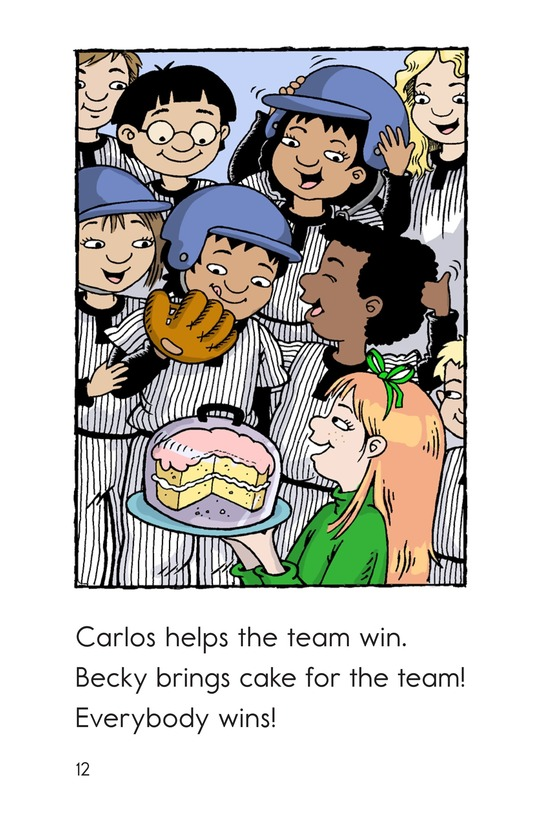 Book Preview For Carlos Joins the Team Page 12