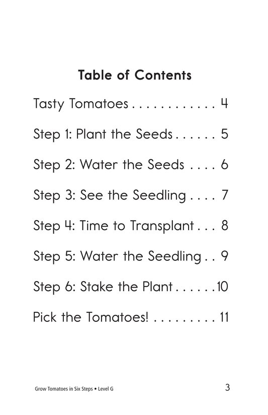 Book Preview For Grow Tomatoes in Six Steps Page 3