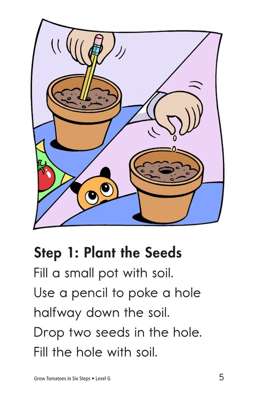 Book Preview For Grow Tomatoes in Six Steps Page 5