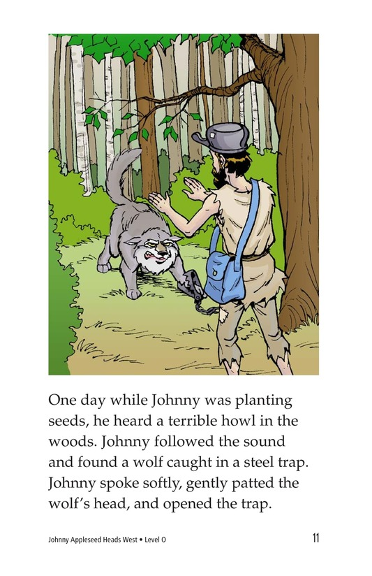 Book Preview For Johnny Appleseed Heads West Page 11