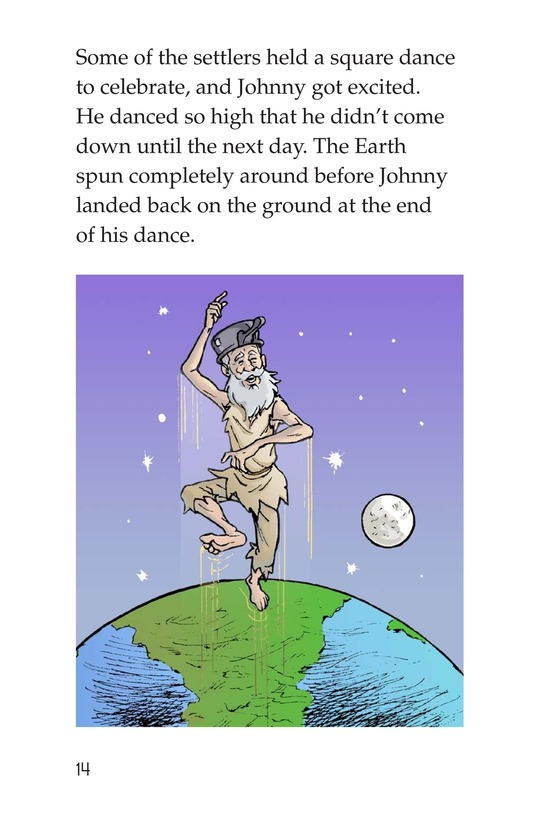 Book Preview For Johnny Appleseed Heads West Page 14
