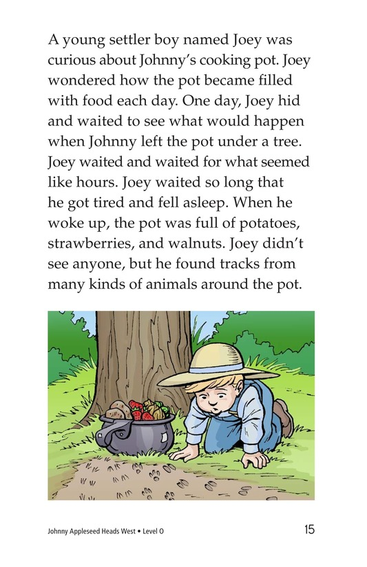Book Preview For Johnny Appleseed Heads West Page 15