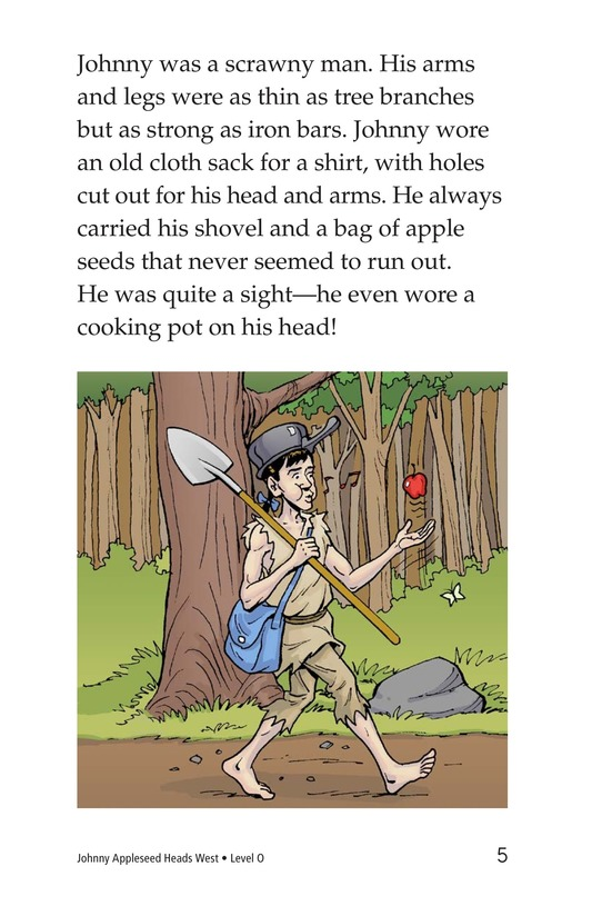 Book Preview For Johnny Appleseed Heads West Page 5