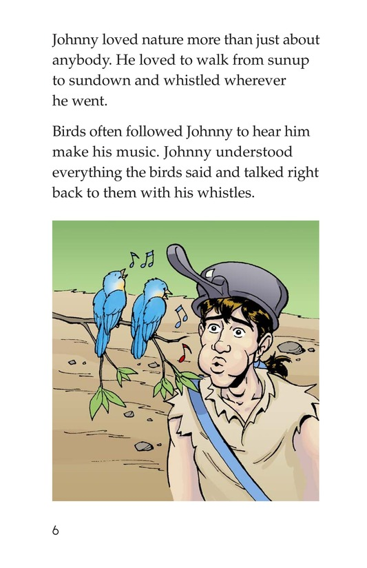 Book Preview For Johnny Appleseed Heads West Page 6