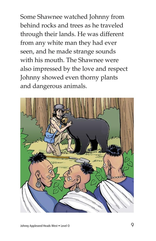 Book Preview For Johnny Appleseed Heads West Page 9