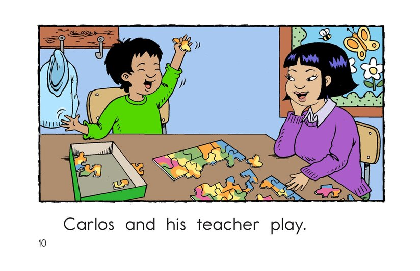 Book Preview For Carlos and His Teacher Page 10