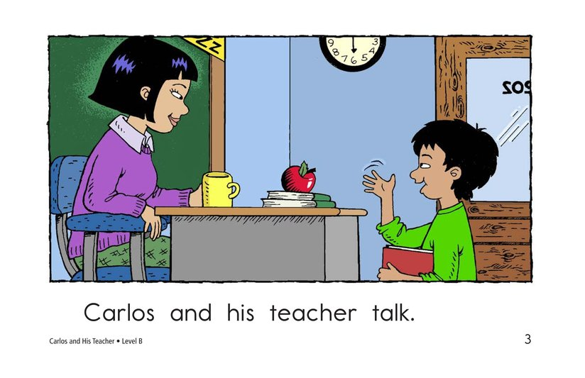 Book Preview For Carlos and His Teacher Page 3