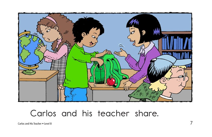Book Preview For Carlos and His Teacher Page 7