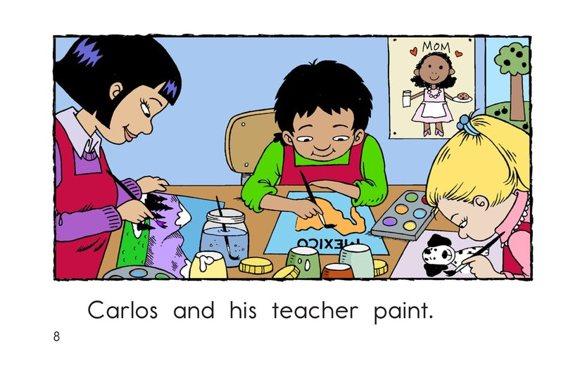 Book Preview For Carlos and His Teacher Page 8