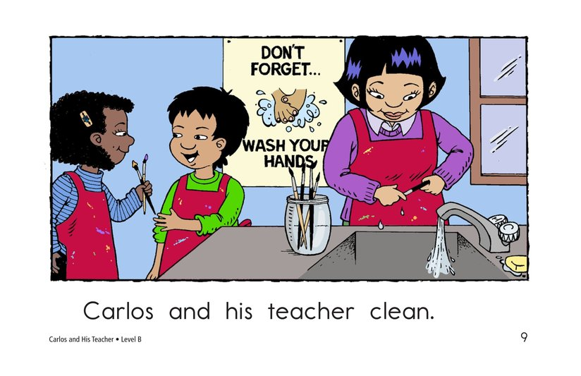 Book Preview For Carlos and His Teacher Page 9