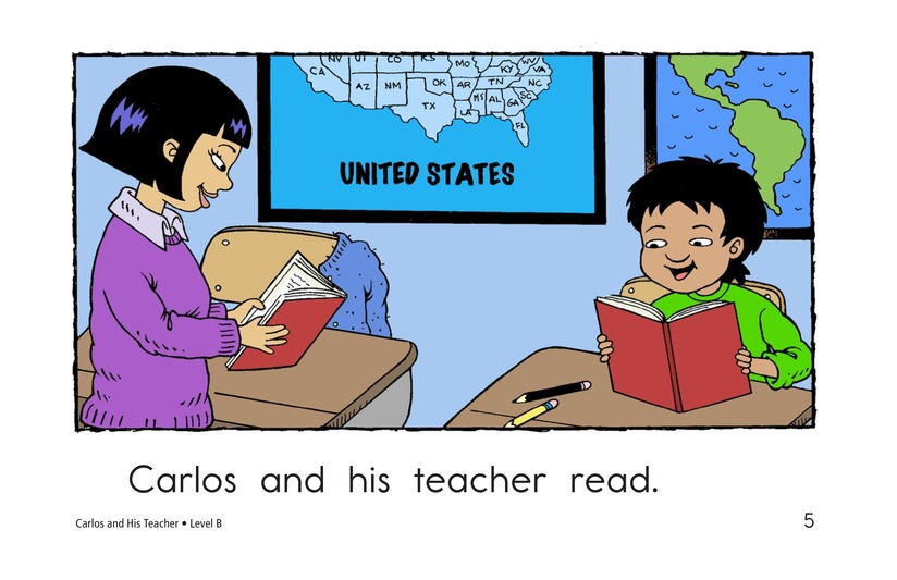 Book Preview For Carlos and His Teacher Page 5
