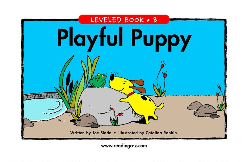 Book Preview For Playful Puppy Page 1