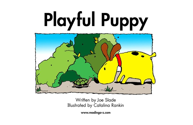 Book Preview For Playful Puppy Page 2
