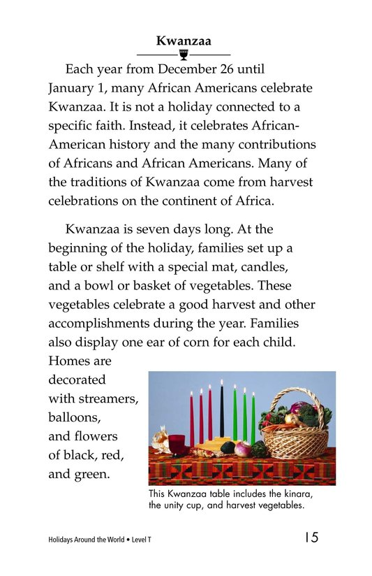Book Preview For Holidays Around the World Page 15