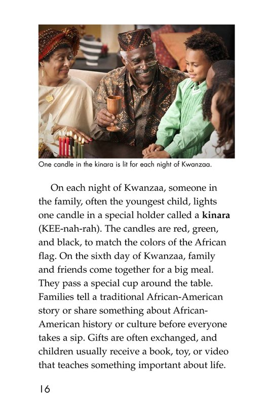 Book Preview For Holidays Around the World Page 16
